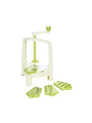 Спирализатор Спирало зеленый Lurch. Цвет: белый, салатовый