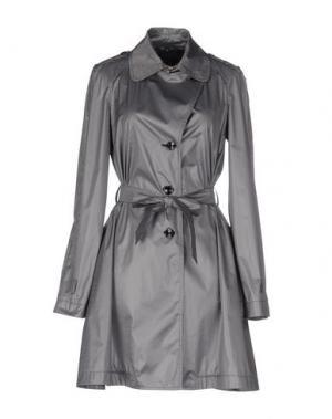 Легкое пальто GEOSPIRIT. Цвет: черный