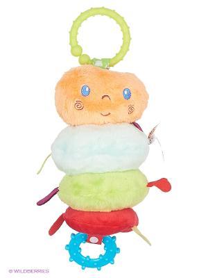 Равзивающая игрушка Гусеница Kaloo. Цвет: бежевый