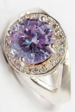 Кольцо FRANSUA ARDY. Цвет: фиолетовый