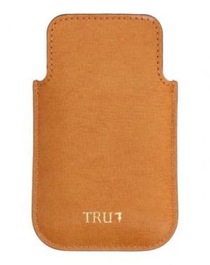 Аксессуар для техники TRU TRUSSARDI. Цвет: желто-коричневый