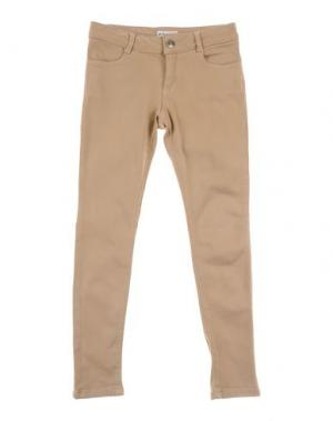 Джинсовые брюки PINKO UP. Цвет: бежевый