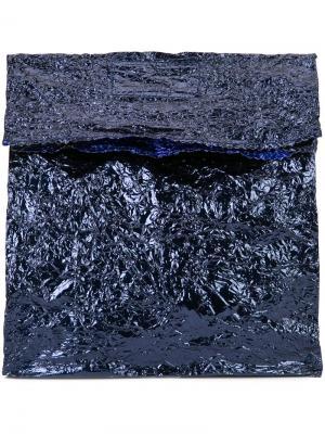 Клатч Steel Lunch среднего размера Zilla. Цвет: синий