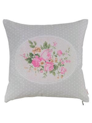 Декоративная наволочка Мария Антуанетта Apolena. Цвет: розовый