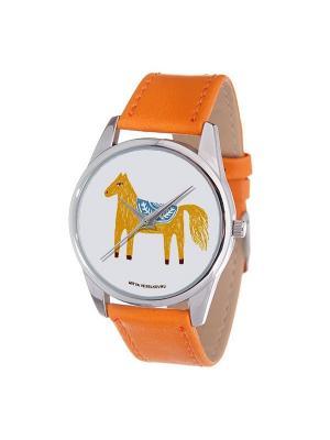 Часы Mitya Veselkov. Цвет: оранжевый