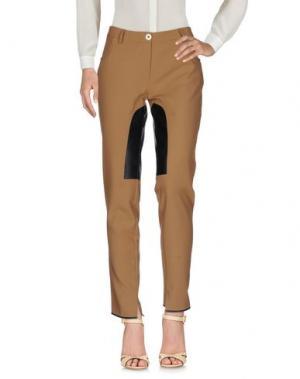 Повседневные брюки CRISTINAEFFE COLLECTION. Цвет: коричневый