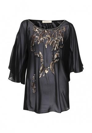 Блуза Free Minds. Цвет: черный
