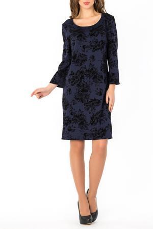 Платье S&A style. Цвет: сине-черный
