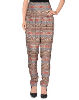 Повседневные брюки MANILA GRACE. Цвет: коралловый