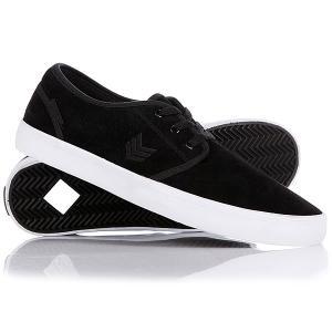 Кеды кроссовки низкие  Slacker Black/White VOX. Цвет: черный