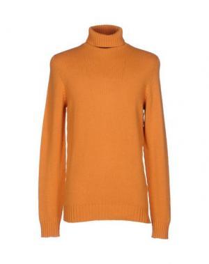 Водолазки SCAGLIONE. Цвет: оранжевый