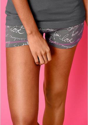 Пижамные шорты VIVANCE. Цвет: воздушные шарики