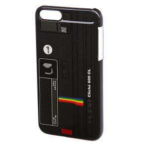 Чехол для Iphone  Polaroid Feather 5 Incipio Black Cliche. Цвет: черный