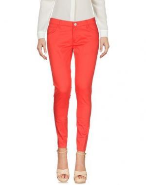 Повседневные брюки CAFèNOIR. Цвет: красный