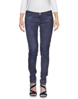 Джинсовые брюки TAKE-TWO. Цвет: темно-синий