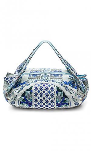 Пляжная сумка Camilla. Цвет: синий