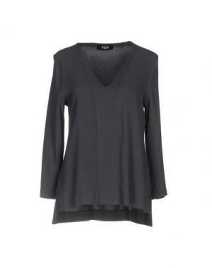 Блузка TOTON COMELLA - TCN. Цвет: грифельно-синий