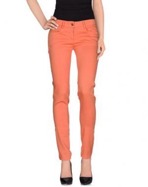 Повседневные брюки DEK'HER. Цвет: коралловый