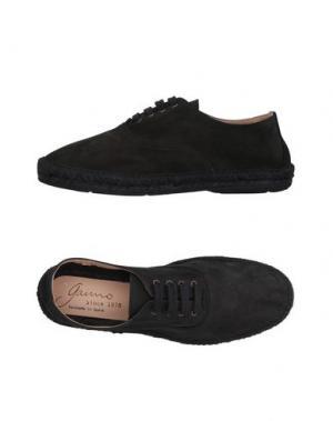 Обувь на шнурках GAIMO. Цвет: черный