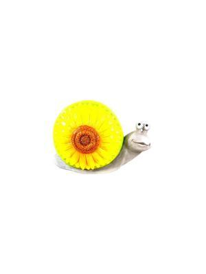 Садовая фигура - Улитка Marquis. Цвет: желтый
