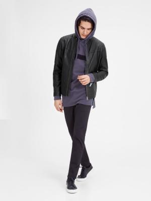 Куртка Jack&Jones. Цвет: черный