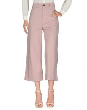 Повседневные брюки C.Y.H. CLAP YOUR HAND. Цвет: розовый
