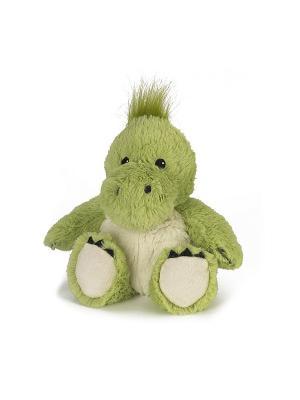 Игрушка-грелка Динозавр Warmies. Цвет: зеленый