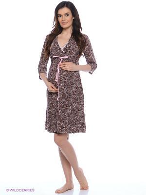 Комплект для беременных и кормящих Hunny Mammy. Цвет: коричневый, розовый