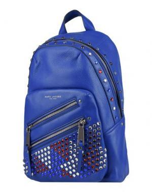 Рюкзаки и сумки на пояс MARC JACOBS. Цвет: синий
