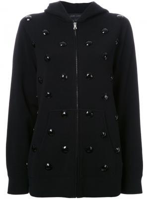 Декорированная толстовка Marc Jacobs. Цвет: чёрный