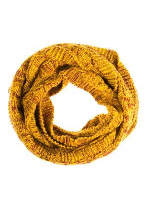 Снуд Vittorio Richi. Цвет: желтый, бордовый