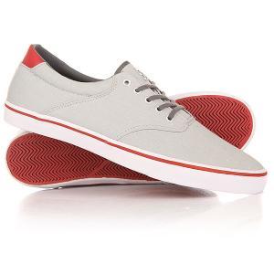 Кеды кроссовки низкие  Filter Light Grey Gravis. Цвет: серый