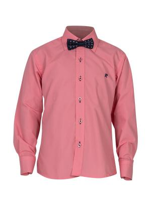 Рубашка ROMA design. Цвет: розовый