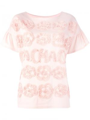 Cha-Cha-Cha T-shirt Tsumori Chisato. Цвет: розовый и фиолетовый