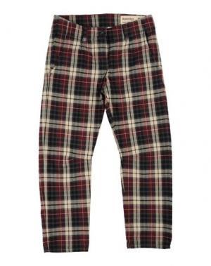 Повседневные брюки NOVEMB3R. Цвет: красно-коричневый
