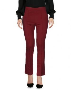 Повседневные брюки F.IT. Цвет: красно-коричневый