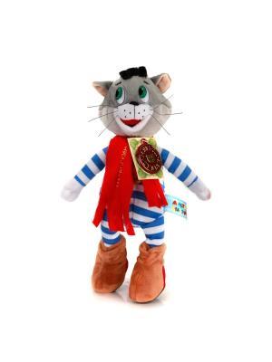 Мягкая игрушка Мульти-Пульти Матроскин из м/ф Трое Простоквашино 18 см.. Цвет: коричневый, красный, белый, синий