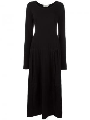 Платье Ali Ivan Grundahl. Цвет: чёрный