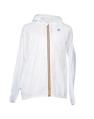 Куртка K-WAY. Цвет: белый