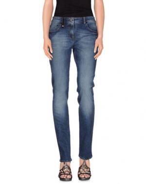 Джинсовые брюки ETIQUETA NEGRA. Цвет: синий