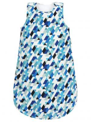 Спальный мешок Рейкьявик MIKKIMAMA. Цвет: черный, синий, голубой, белый