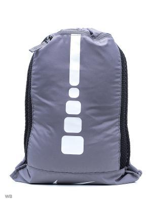 Рюкзаки NK HPS ELT GMSK Nike. Цвет: серый