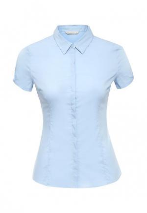Блуза Sela. Цвет: голубой