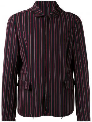Куртка в полоску Wooyoungmi. Цвет: красный