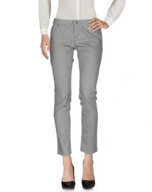 Повседневные брюки ARTIGLI. Цвет: серый