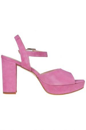 Босоножки Sessa. Цвет: розовый