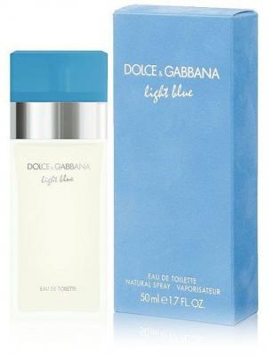 Light Blue DOLCE & GABBANA. Цвет: голубой