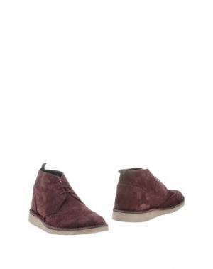 Полусапоги и высокие ботинки ANGELO NARDELLI. Цвет: фиолетовый