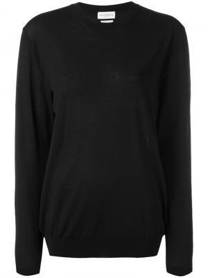 Пуловер с длинными рукавами Ballantyne. Цвет: чёрный