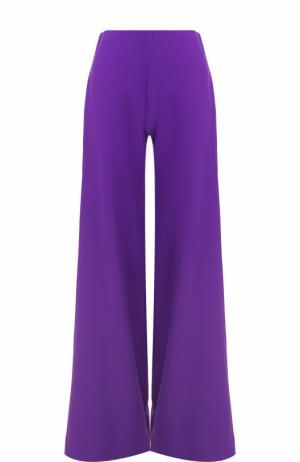 Расклешенные однотонные брюки Ralph Lauren. Цвет: фиолетовый